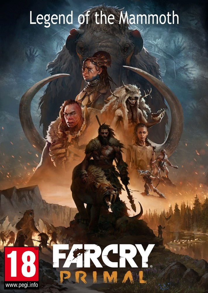 Far Cry Primal Legend Of The Mammoth Dlc Pc Klucz Uplay Egamezone Pl