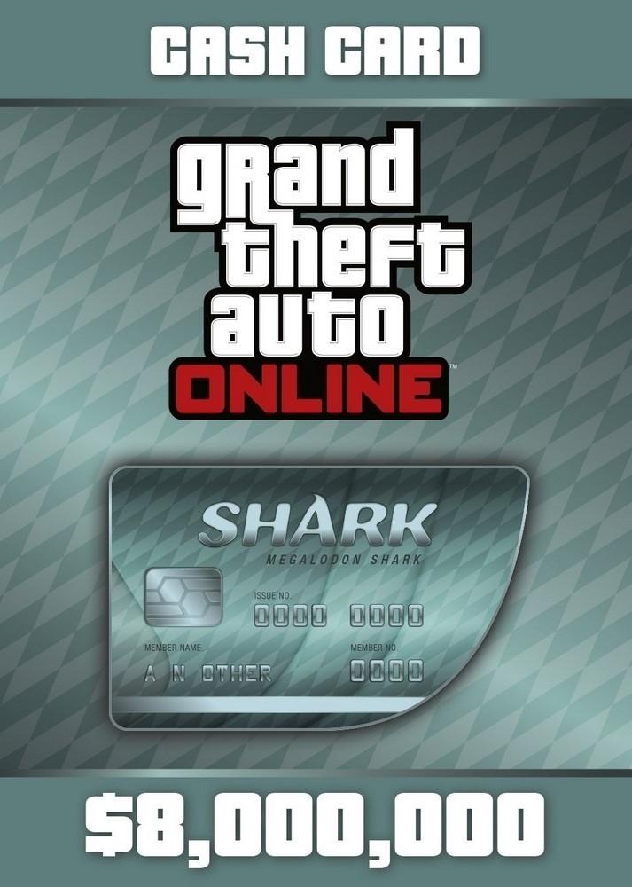 Grand Theft Auto V - Megalodon Shark Cash Card (PC) Klucz